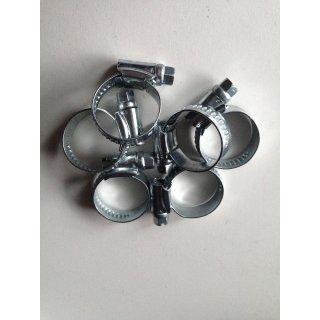 5 x     SCHLAUCHSCHELLEN      10-16mm    EDELSTAHL  V2A