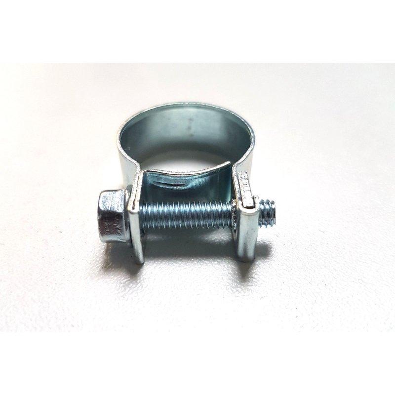 10x Schlauchschellen 13-15 mm Mini Schellen Industriequalität W1 verzinkt